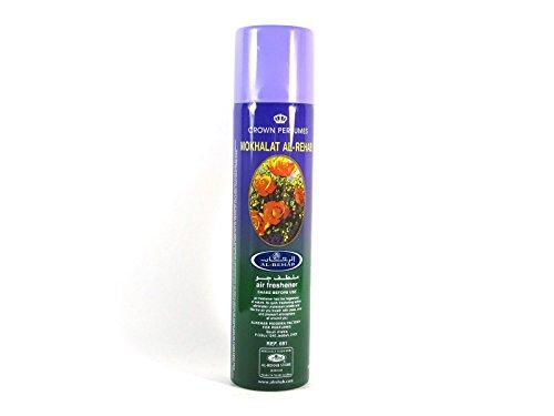 Rehab Air Freshener 300ml Mokhalat Al Fresh Scent Smell Spray Fragrance for Home Office (Home Fragrance Spray)