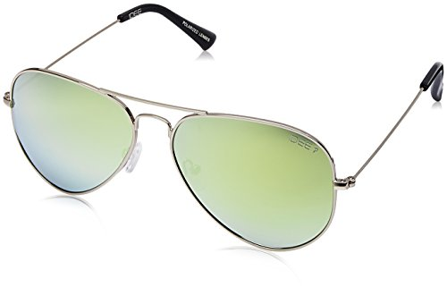 Buy IDEE (IDS2301C25PSG|58) Mirrored Aviator Unisex Sunglasses Online at Best Price in India