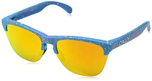 Oakley Sonnenbrillen FROGSKINS LITE OO 9374 Splatter Collection Blue Sky/FIRE Iridium Unisex