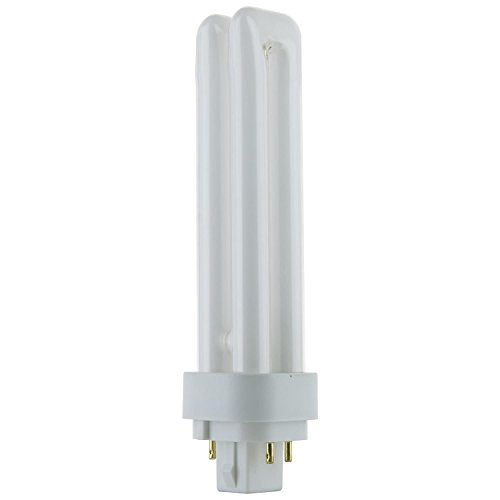 takestop Lampen-Set, 2 Stück, PLD/E G24q-2 4 PIN 26 W Halogenlampe natürliches Licht 4000 K 1720 LM 165 x 34 mm Energieklasse B - 26 Watt 2 Pin