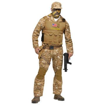 US Navy SEAL Kostüm - M/L - (Us Kostüm Halloween Navy)