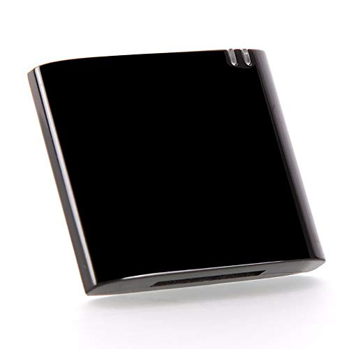 NAttnJf Wireless Bluetooth V 4.1 30 Pin Musica Ricevitore Audio Adattatore per iPhone iPod-Nero