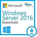 Windows Server 2016 Essentials ESD Key Lifetime / Fattura / Consegna Immediata / Licenza Elettronica / Per 1 Dispositivo