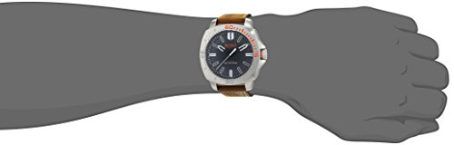 Hugo Boss Orange Sao Paulo Men's Quartz Analogue Classic Brown Leather Strap 1513294