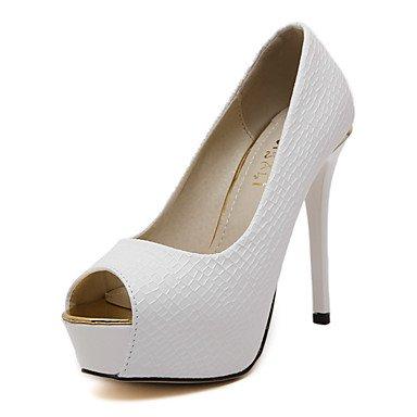 Moda Donna Sandali Sexy donna tacchi Primavera / Estate / Autunno / Inverno tacchi / Peep toe Party & sera abito / / Casual Stiletto Heel Black