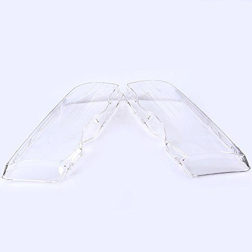 Lichtscheibe Scheinwerfer Abdeckung Fahrerseite&Beifahrerseite Transparent Gläser, Plastik