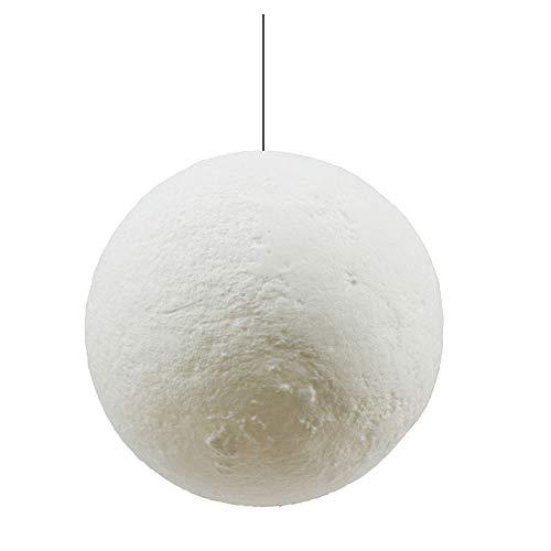 Chandelier & Table Lamp Zwei Verwendungen Moonlight Night Light, 3D Mondscheinlampe mit Mondlicht Led 16 Farben Dimmable Touch + Fernbedienung Nachttischlampe USB-Lade-Baby-Lampe,18cm