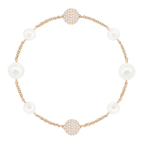 Swarovski Remix Collection Mixed White Crystal Pearl, rosé vergoldung (Collection White Frauen)