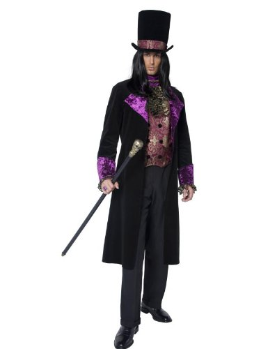 Gothic Count Deluxe Adult Kostüm (Deluxe Brustgurt)