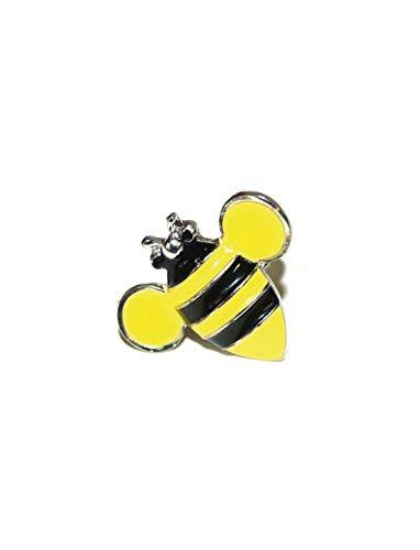 Halloweenia - Kostüm Accessoires Zubehör Ring in Hummel Bienen Stil, Bumblebee Ring, perfekt für Karneval, Fasching und Fastnacht, Gelb (Bumblebee Kostüm Zubehör)
