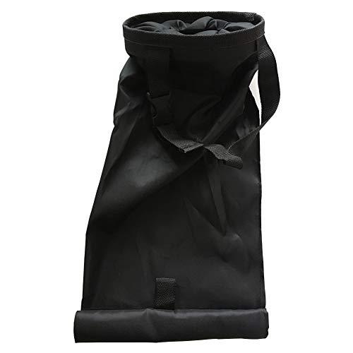 Bclaer72 Universal-Mülleimer für unterwegs, tragbar, zusammenklappbar, Pop-Up-Mülleimer mit Abdeckung, Müllbehälterhalter, Schwarz, Free Size -