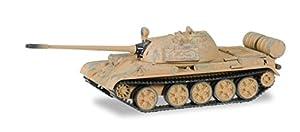 Herpa 745642-T de 55M Media Carro de Combate con Marcas de Uso