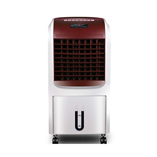 Evaporativo Raffreddatore d'aria Riscaldatore del ventilatore del radiatore dell'aria 75w, purificazione ioni negativi, serbatoio dell'acqua 8L, timer 12 ore, 3 velocità, for uffici domestici Climatiz