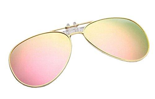 Alien Storehouse Leichte Clip-on Sonnenbrillen Objektive Fahren im Freien [Color-7]