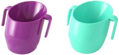 Doidy Cup 10115 Spar-Doppelpack, lila/türkis