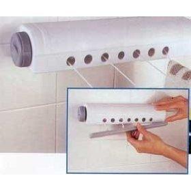 Die Automatische Wäscheleine Innen oder Haussen - 4 Starke Leinen Bis 3.66 Meter