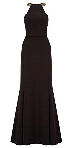 Bianca Maxi Long Dress Black