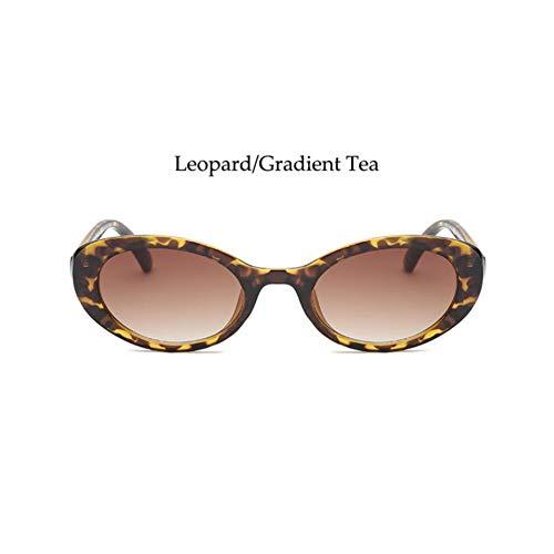 HYUHYU Rosa Sonnenbrille Vintage Sonnenbrille Für Frauen Kleine Ovale Trendy Sonnenbrille Kunststoffrahmen Niedlich Billig Männer Brille Mode Brille