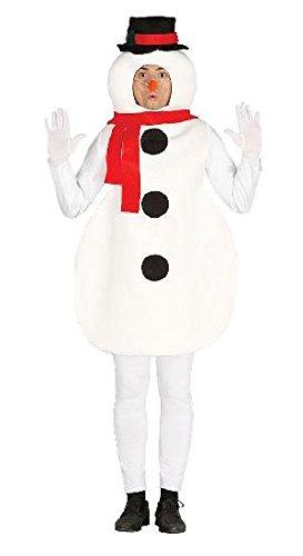 Erwachsenen Schneemann Kostüm Einheitsgröße
