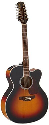 TAKAMINE gj72ce-12G Serie Jumbo Cutaway Guitarra Electroacústica de 12