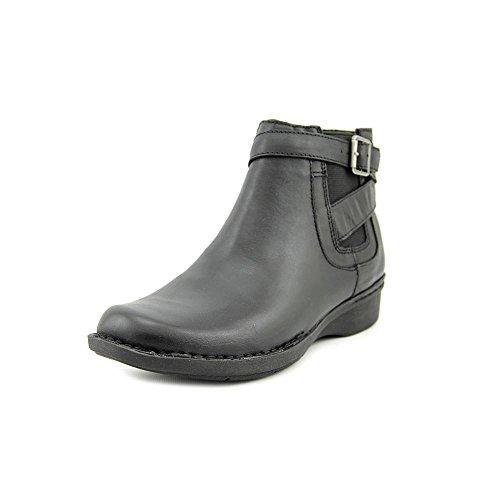 Clarks Damen Whistle Strauch Stiefel Black Smooth Leather
