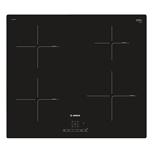 31%2BerVA3q1L. SS500  - Bosch PUE611BF1B Serie 4 59cm Frameless Four Zone Induction Hob Black