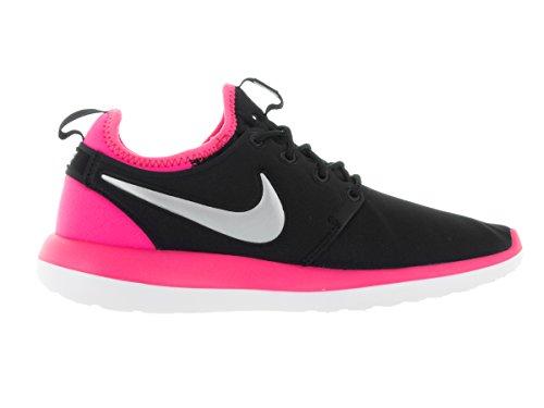 Nike Roshe Two (Gs), Chaussures de Running Entrainement Femme Noir (Black / Platinum-Hyper MTLC Rose)