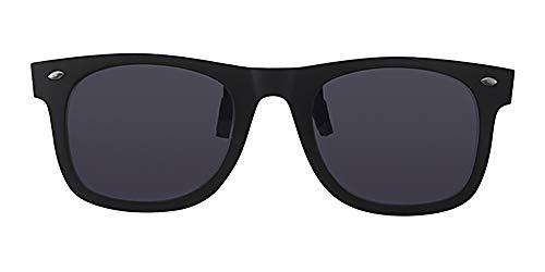 Eyewear World polarisierte Sonnenbrille, blendfreie Schwarze Gläser, CE-gekennzeichnet