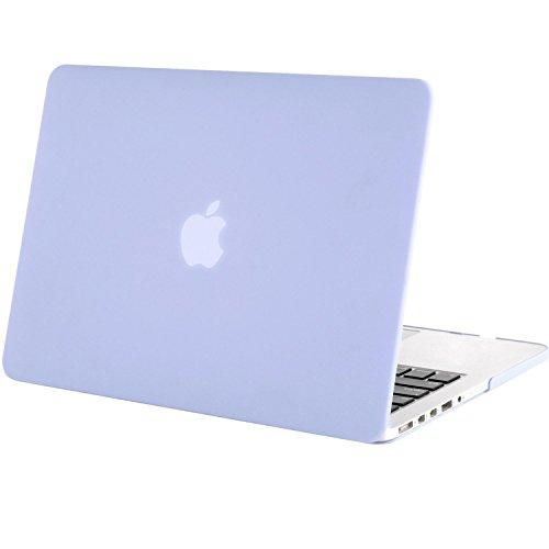 MOSISO MacBook Pro 15 Retina Hülle (NO CD-ROM Drive) - Ultra Slim Hochwertige Plastik Hartschale Tasche Schutzhülle Snap Case für [Vorherige Generation] MacBook Pro 15 Zoll with Retina Display (Model A1398), Serenity Blau