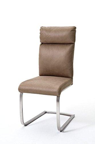 2 Stühle Rabea, Schwinger, Schwingstuhl, Freischwinger
