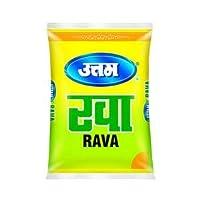 Uttam Rava Semolina 1Kg by PadelaSuperStore