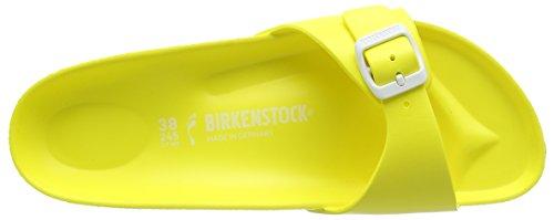 Birkenstock Madrid, Mules femme Jaune (Neon Yellow)