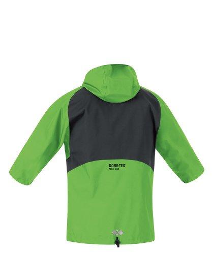 Gore Running Wear - Giacca da uomo X-Running Active Shell, Verde (apple green/petrol blue), S Verde - apple green/petrol blue