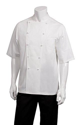 Capri Executive Chefs Jacket - White by Chef Works Executive Chefs Jacket