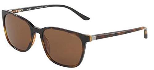 Occhiali da sole starck eyes 0sh5016 havana/brown mirror polarized unisex