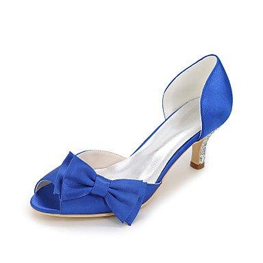 CH&TOU Da donna-Tacchi-Matrimonio Serata e festa-Altro-A stiletto-Seta-Nero Blu Viola Rosso Avorio Bianco Argento Champagne blue
