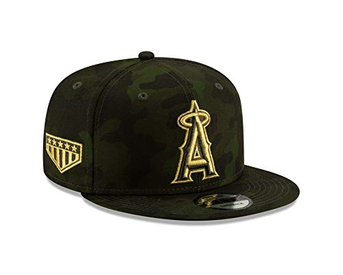 New Era Los Angeles Angels 2019 Armed Forces Day 9FIFTY Snapback MLB Cap, One Size