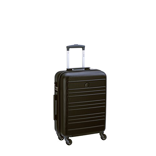 Delsey Carlit luggage Trolley cabin 4R Slim 55 black