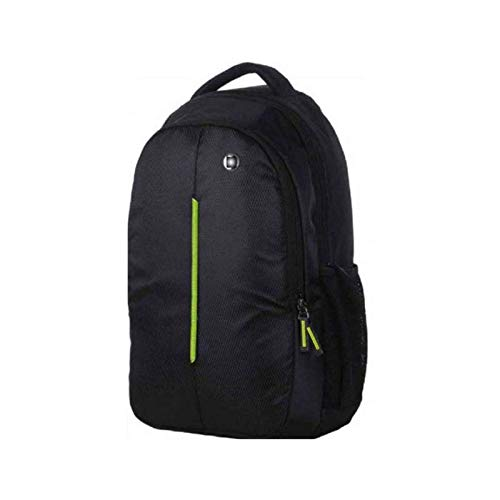 kurainnpvt kurainn Unisex 20 L Polyester Waterproof School Bag (Black, Green)
