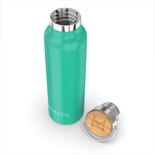 montii-600ml-Isolierbecher Edelstahl Wasser Flasche-Grün
