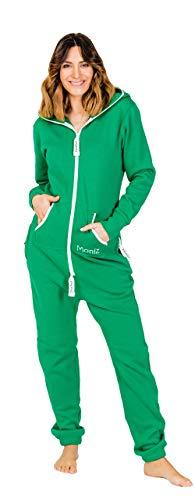 Moniz Damen Jumpsuit, grün, Größe -