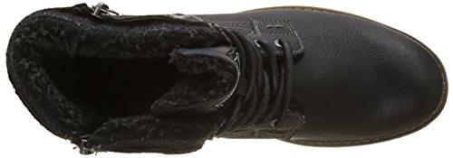 Tom Tailor - 3785804, Stivali Uomo nero (nero)