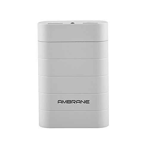 Ambrane Power Bank P-611 6000mAh White  available at amazon for Rs.599