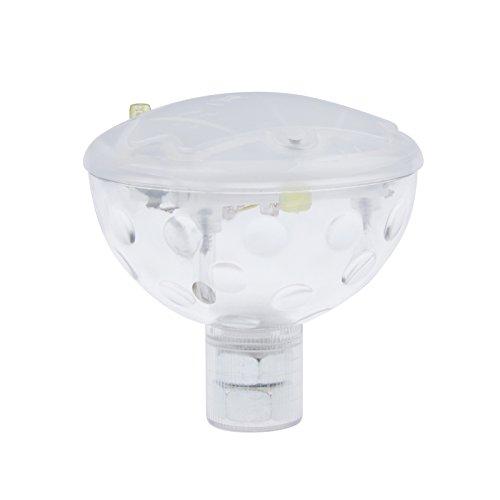 Green House Lampe LED A Piles RGB Couleurs Changeantes Etanche IP67 pour piscines, jardins ou baignoire