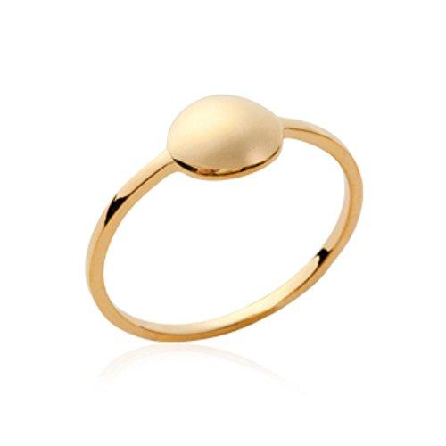 ISADY - Alabama Gold - Damen Ring - 18 Karat (750) Gelbgold - T 56