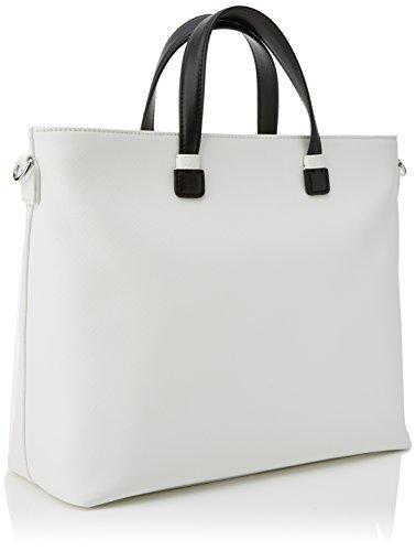 Tua by Braccialini Trendy, Borsa a Mano Donna, 34x26.5x115 cm (W x H x L) Bianco