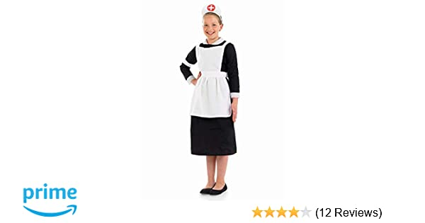 d89bcd131ba99 Fun Shack Child Victorian Nurse Costume - AGE 4 - 6 YRS (S): Fun Shack:  Amazon.co.uk: Toys & Games