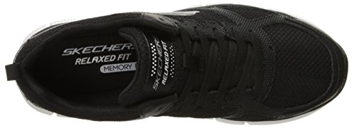 Skechers Equalizer 2.0 On Track Herren Low-Top Schwarz (Bkw)