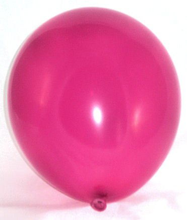 dballon, pink/Magenta, ca. 30 cm Ø, ca. 90/100 cm Umfang ()