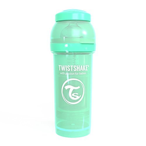 Twistshake 78257 - Biberón, color pastel verde